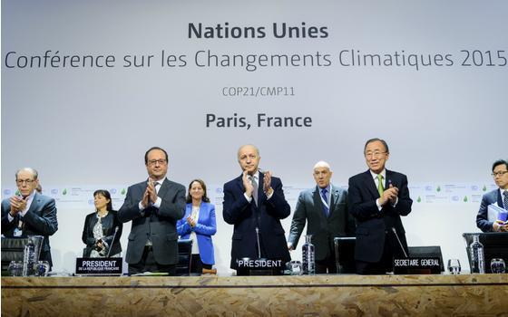 巴黎协议为应对气候变化带来希望