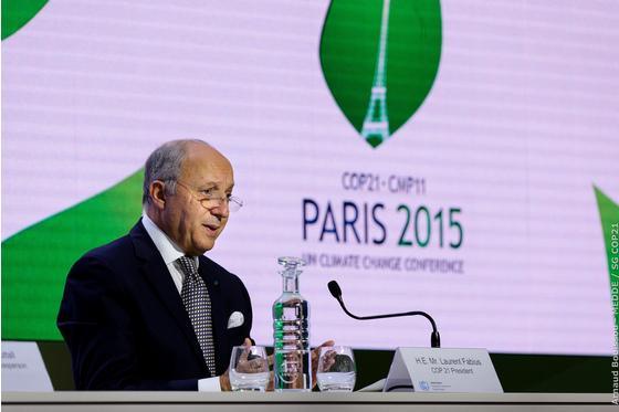 素描:巴黎气候大会达成历史性协议