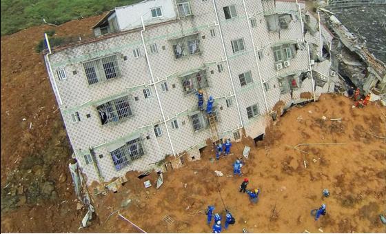 深圳滑坡事故暴露渣土围城困境