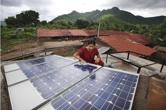 让他们拥有发展可再生能源的机会!