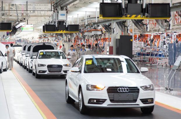 大众车诞生记:参访一汽-大众佛山工厂