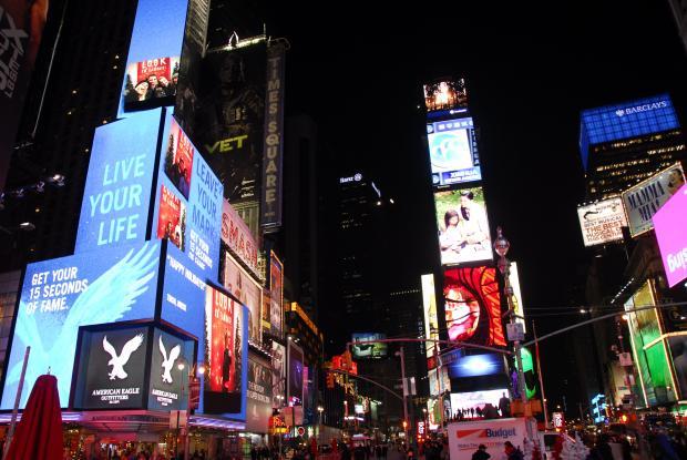 美国东部印象(1) :纽约的新年