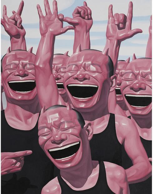 黄昏的狂笑及其他——岳敏君多系列作品评述