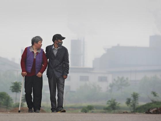 绿色和平:八成中国城市PM2.5浓度仍超标