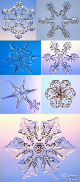 六角形的雪花