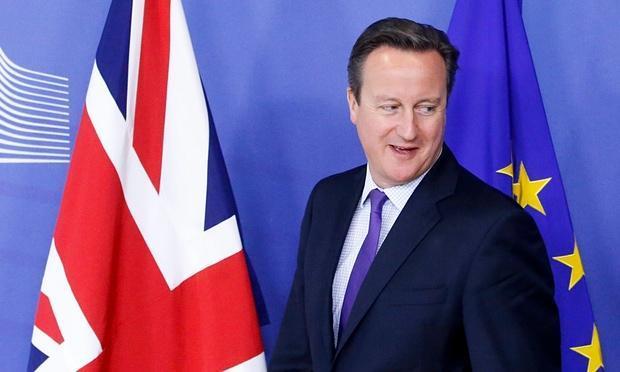 卡梅伦与欧盟达成协议  英镑走强