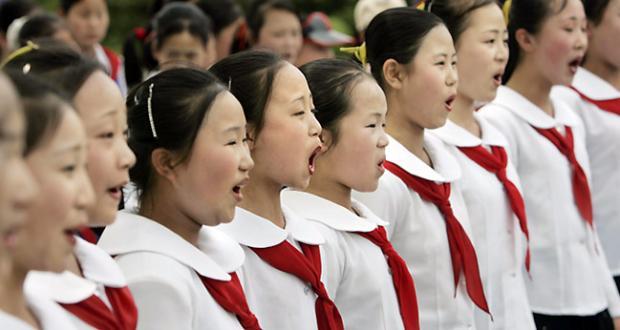 北朝鲜的孩子(独家组图)