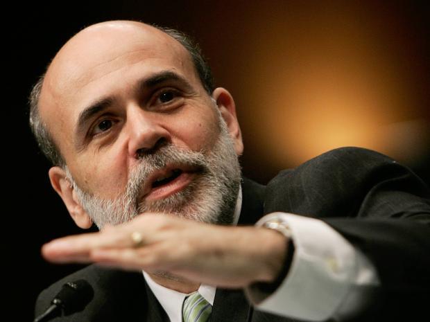 伯南克:如有必要,美联储会考虑负利率,而非再推QE
