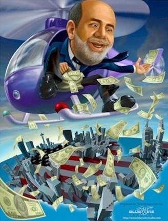 """全球经济急需""""直升机撒钱""""式治疗?"""