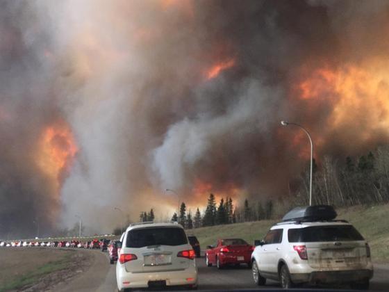 加拿大森林大火:气候变化恐是罪魁祸首