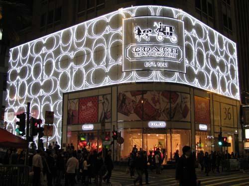 纽约COACH大厦正式开幕啦!