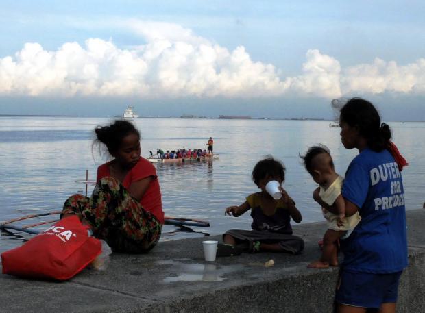 【组图】菲律宾的贫穷和笑脸