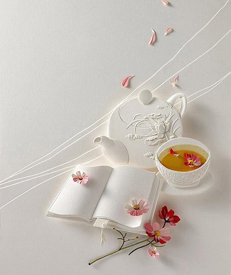 慵线懒针,刺绣品茶,不必追的好光阴