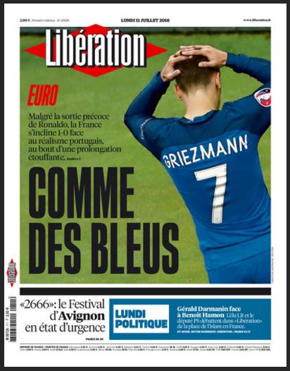 """酸爽输球引发的""""国殇"""":法国媒体如何吐得一口好嘈"""