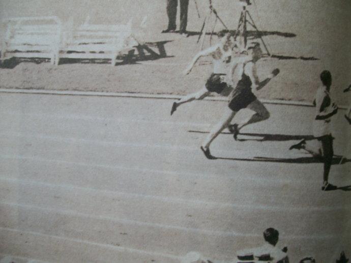 中国人第一次参加奥运会就伴随着日本人的捣乱