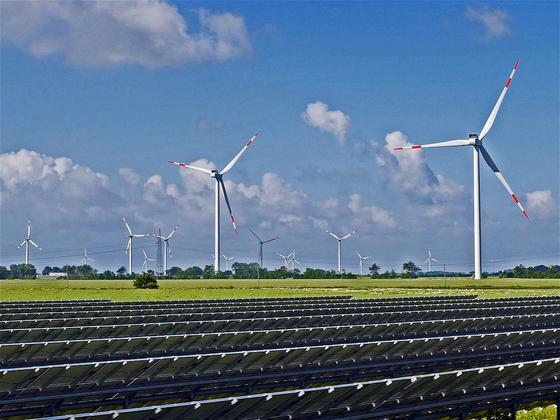新式绿色电网