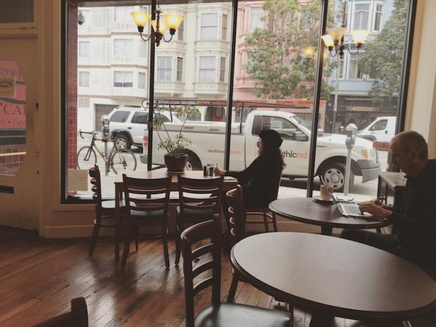 """在旧金山,咖啡馆有怎样的""""气场"""""""