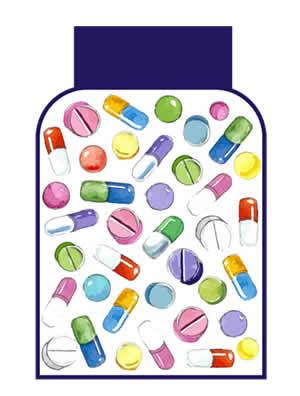 吉二代不能与哪些药并用?