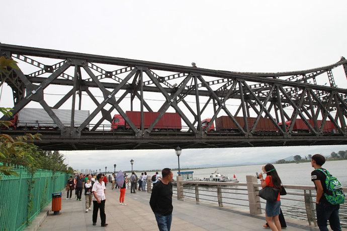 【影像】从丹东看朝鲜是什么样?