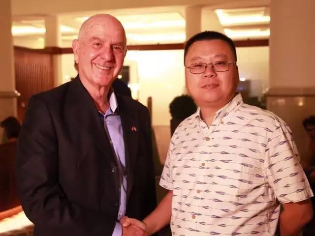 刘兴亮与以色列驻华大使马腾