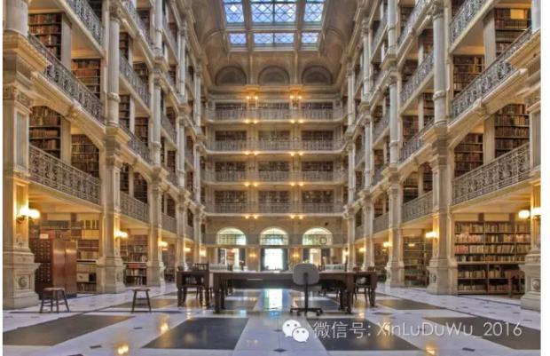美国城市里最漂亮的建筑——乔治·皮博迪图书馆