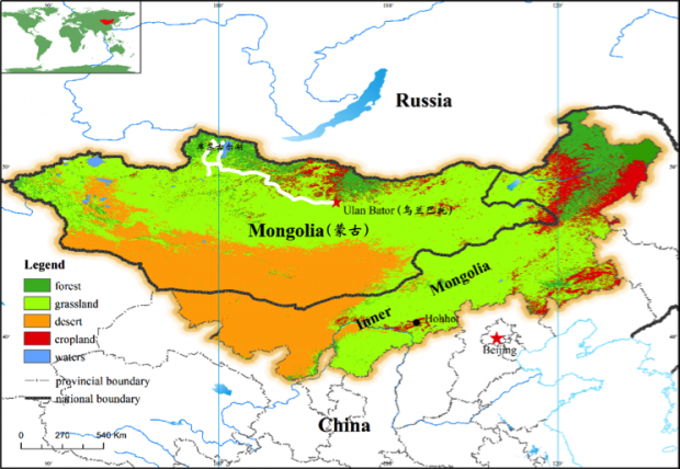 地广人稀,水草丰美的蒙古的现代化之路