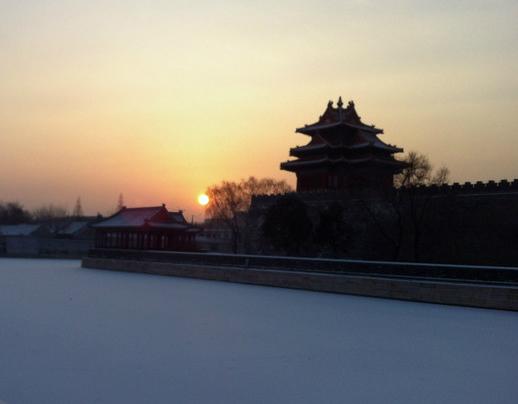 异乡人眼中的北京与北平