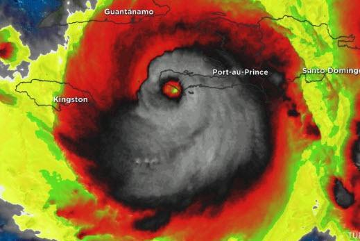 """飓风""""马修""""PK台风""""莫兰蒂""""——热带风暴哪家强?"""