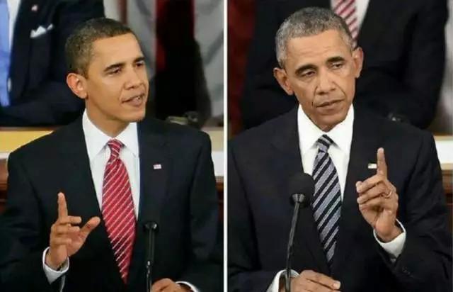 总统有多难做,满头白发知道