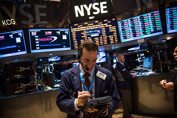 道指连续四个交易日收于纪录高位 美国国债跌势暂缓