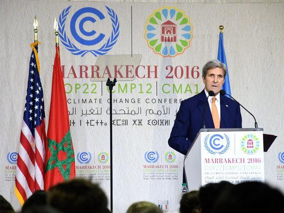 约翰·克里:气候行动不可逆转
