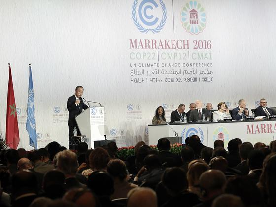 马拉喀什峰会闭幕:千亿美元气候资金悬而未决