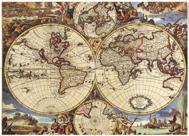 """地图是个""""浏览器"""" 让我们览尽数千年文明史"""