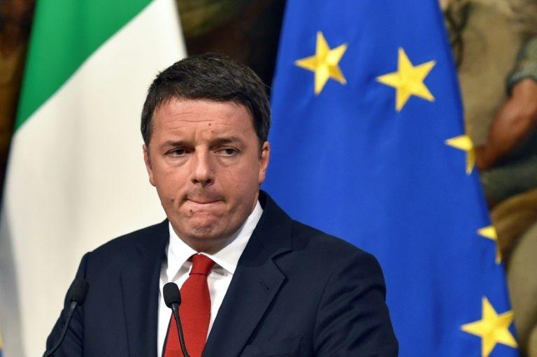 意大利总理伦齐因公投失败辞职  欧元对美元跌至20个月低位
