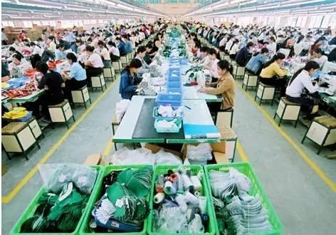 越南蓬勃的纺织工业