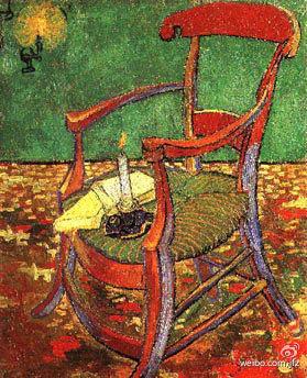梵高画的高更的椅子