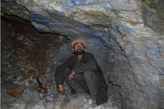 阿富汗青金石开采和贸易陷入停滞
