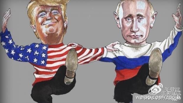 奥巴马与普京的缘起缘灭