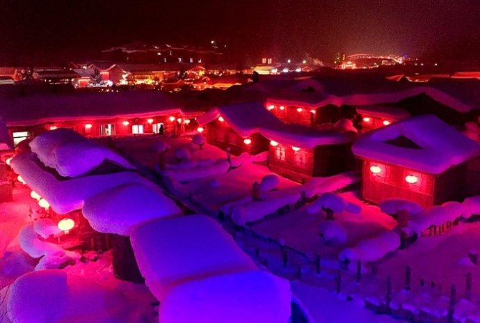 冬季到黑龙江来看雪