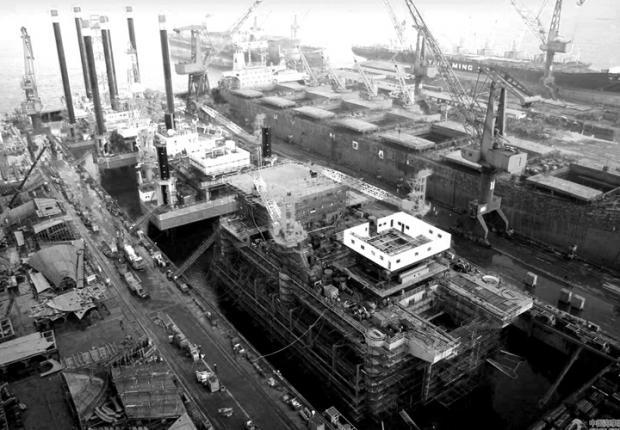 中日韩造船业搏杀求生 大宇造船卖掉总部大楼续命