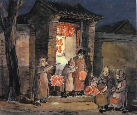 从过年的京味儿淡看老北京话越来越少