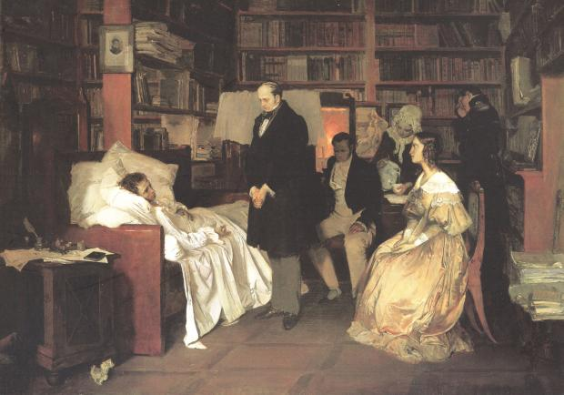 普希金 | 180年前的那场死亡