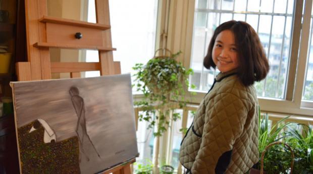 上帝让我拿起画笔,记录心中的赞美与忏悔——专访基督徒画家张新月(一)