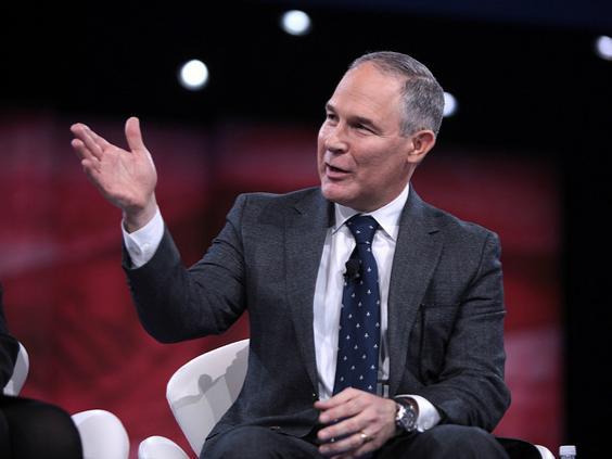 新任环保署长:美国环境的最大考验