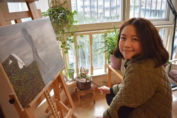 以恩典为主题的绘画——专访基督徒画家张新月(三)