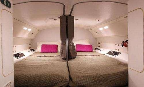 777机组休息舱的故事