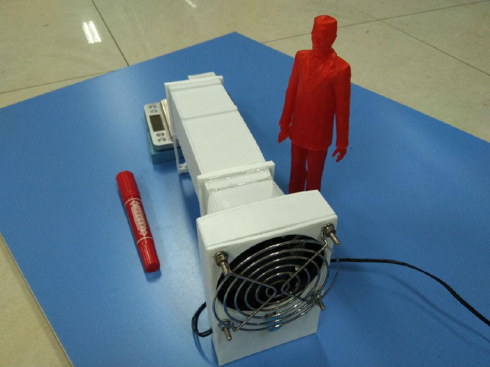 世界上最小的3D打印微型迷你风洞