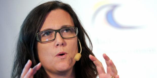 """欧盟Malmström: 欧盟和墨西哥""""承诺""""在2017年达成贸易协定"""