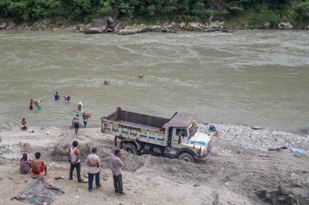 河砂开采破坏亚洲河流生态