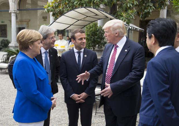 G7峰会未能阻拦美国退出《巴黎协定》